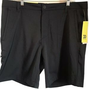 All In Motion Cargo Golf Shorts in Black Onyx